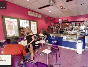 Follow-Up tour virtuale Google Street View per Lory Pinky Bar