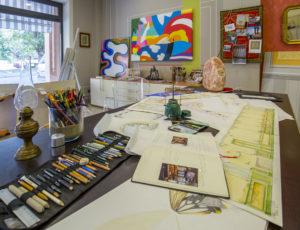 Un tour virtuale artistico – AR Studio di Rossella Arvonio a Cadelbosco