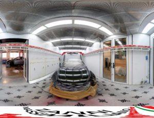 Un tour virtuale verniciato alla perfezione – Zanni Massimiliano Autocarrozzeria a Cadelbosco Sopra (RE)
