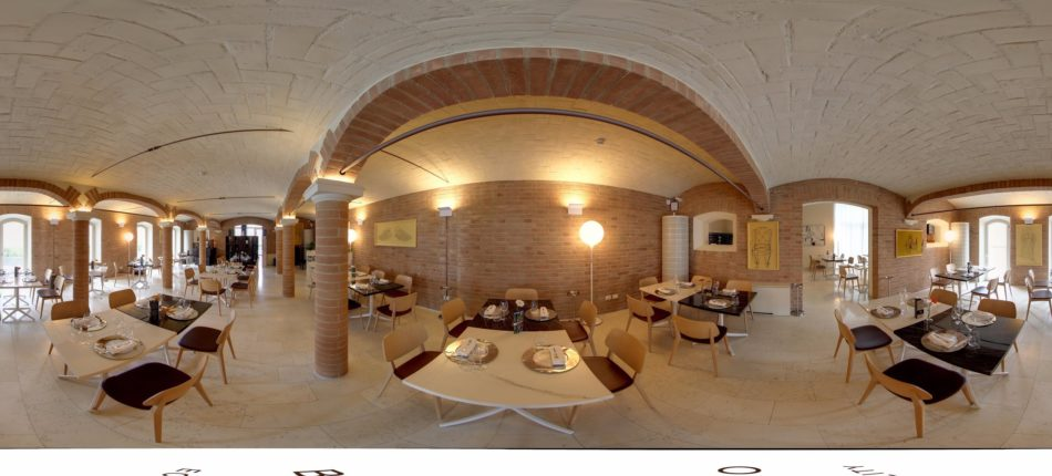 "Un tour virtuale elegante ""Ristorante 1495"" Scandiano (RE)"