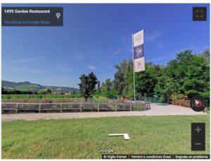 Un tour virtuale estivo – integrazione Garden per 1495 Garden Restaurant a Scandiano