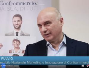 """Intervista a """"Fabio Fulvio"""" per Confcommercio"""